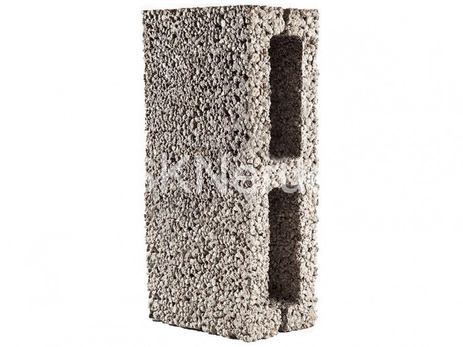 Перегородочный 2-пустотный блок М50 390х120х190