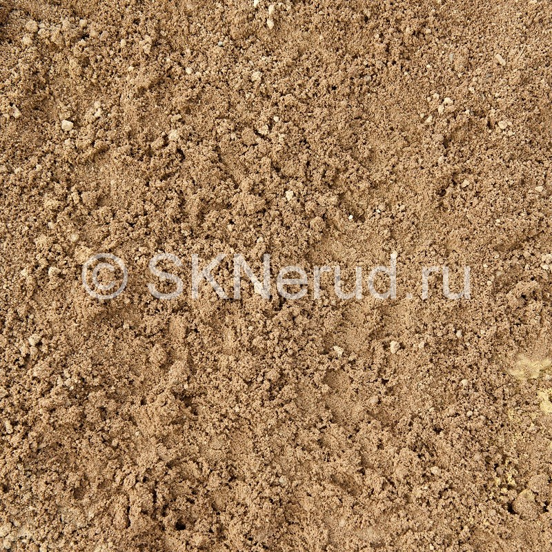 Песок речной с доставкой