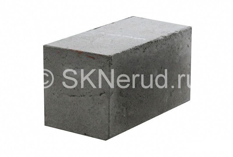 Пескоцементный полнотелый блок М150 390х190х190