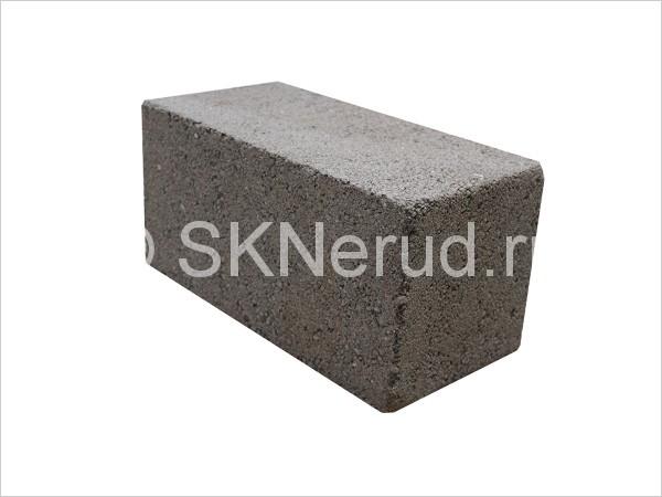 Пескоцементный полнотелый блок М75 390х190х190