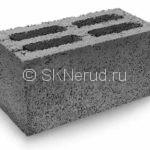 Пескоцементный 4-пустотный блок 390х190х190
