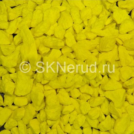 Щебень крашеный цветной Желтый
