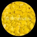 Цветной мраморный щебень (желтый)