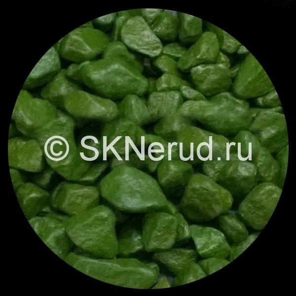 Цветной мраморный щебень (трава)