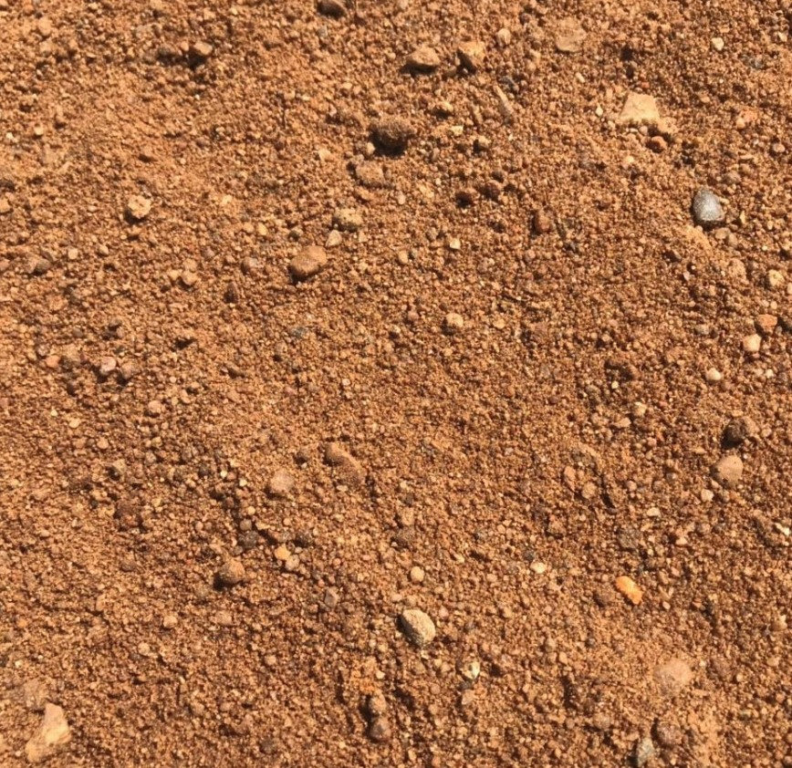 Песок карьерный среднезернистый